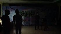 Ảnh Táo quân mò mẫm tập trong bóng tối trước giờ ghi hình