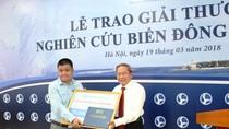 Trao giải thưởng Nghiên cứu Biển Đông năm 2017