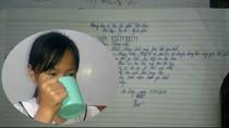 Khám sức khỏe học sinh uống nước giẻ lau bảng có diễn biến phức tạp