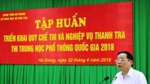 Bí ẩn 3 bài thi ở Hà Giang được tăng điểm sau khi chấm thẩm định