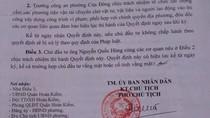 """Quận Hoàn Kiếm """"làm ngơ"""" cho xây dựng sai phép tại 127 Phùng Hưng?"""