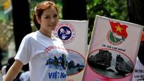 15 bức hình Lý Nhã Kỳ vận động cho Vịnh Hạ Long tại TP.HCM