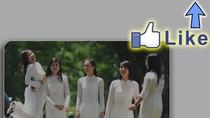 Vừa chơi Facebook, vừa thi và bình chọn Nữ sinh trong mơ