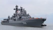 """Xem clip tàu chống ngầm """"khủng"""" của Nga thăm Đà Nẵng"""