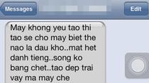 Tiết lộ 'chấn động' tin nhắn đòi... yêu và hăm dọa Cao Thái Sơn