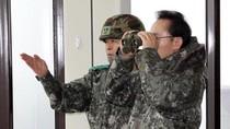 Tổng thống Hàn Quốc bất ngờ đến sát biên giới với Bắc Triều Tiên