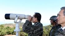 "Lee Myung-bak ra biên giới ""nhòm"" Bắc Triều Tiên"