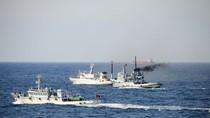 Hải quân, Hải giám, Ngư chính Trung Quốc cùng diễn tập ở Hoa Đông