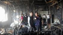 Hiện trường vụ cháy bệnh viện ở Đài Loan khiến 12 bệnh nhân bị chết