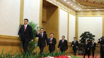 7 Ủy viên Thường vụ Bộ chính trị ĐCSTQ đã xuất hiện