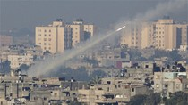 Israel tấn công trụ sở nội các Hamas ở Dải Gaza