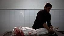 Cảnh tang thương chết chóc của một gia đình Palestine trên Dải Gaza