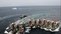 Hàn, Nhật hợp tác đối phó với tàu cá Trung Quốc