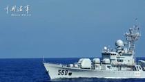Hạm đội Nam Hải kéo tàu chiến ra sát Scarborough tập trận