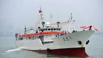 """Tàu Trung Quốc  """"điều tra nguồn cá Biển Đông"""" đầu tiên đã quay về cảng"""