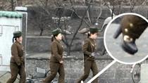 Video: Triều Tiên huấn luyện nữ binh, đi giày cao gót tuần tra
