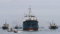 32 tàu cá TQ chạm trán tàu cá Việt Nam ở Hoàng Sa phải vòng tránh