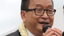 Sam Rainsy yêu cầu các nghị sĩ CNRP dừng công kích biên giới Việt Nam