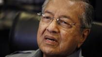 Mahathir: Hãy quên việc đối đầu quân sự với Trung Quốc ở Biển Đông