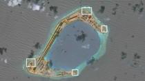 Trung Quốc bố trí hỏa lực phòng không ở đảo nhân tạo phi pháp ngoài Biển Đông