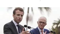 Tổng thống Pháp cam kết sẽ chống lại quyền lực Trung Quốc ở Thái Bình Dương