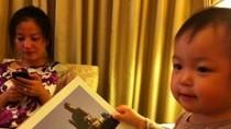 Triệu Vy khoe ảnh thiên thần nhỏ đáng yêu