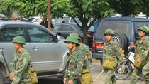 Hình ảnh mới nhất tại hiện trường vụ nổ xưởng pháo hoa ở tỉnh Phú Thọ