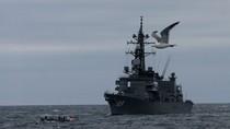 """Tàu chiến Nga – Nhật """"ầm ầm"""" tập trận trên vịnh Peter Đại Đế"""
