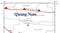 Động đất mạnh ở Sông Tranh