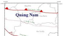 Động đất tại huyện Bắc Trà My tỉnh Quảng Nam