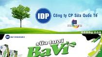 Công ty CP Sữa Quốc tế IDP tặng 5 thùng sữa Ba Vì (đợt 25)