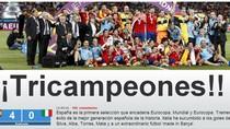 """Báo chí Tây Ban Nha: """"La Roja ở trên Italia một tầng đẳng cấp"""""""