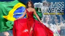 Hoa hậu Hoàn vũ 2010 đã đến Brazil
