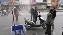 Hà Nội: Mùng 5 Tết, lại có xe máy phát hỏa