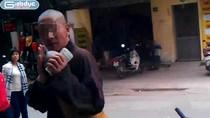 Video: Lật mặt sư giả xin tiền ở Hà Nội