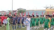 Huế : Khai mạc giải bóng đá sinh viên tranh cúp Huda 2012