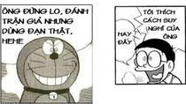 Đôrêmon chế: Nobita triết lý thâm thúy về tình yêu