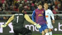 Video: Messi vượt mặt Neymar, Barca vùi dập Santos