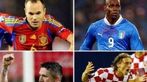Dự đoán EURO 2012, bảng C: Tây Ban Nha chắc suất, Ý trầy vi tróc vảy