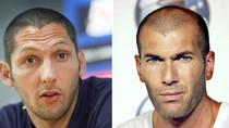 """""""Thiết đầu công Zidane"""" được dựng thành tượng"""