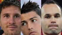Messi, Ronaldo và Iniesta vào danh sách rút gọn Quả bóng Vàng 2012