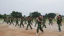 Học sinh Quảng Ninh rèn bản lĩnh, tính tự lập trong quân đội
