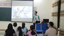 Nông dân học tiếng Anh để phát triển du lịch đồng quê