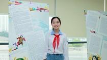 Bức thư đoạt giải Ba thi viết thư quốc tế UPU năm 2018 của nữ sinh Hải Dương