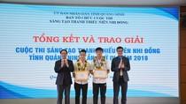 Robot tự hành phát hiện, định vị, dò mìn của học sinh Quảng Ninh