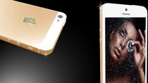 Ngắm iPhone 5 mạ vàng lấp lánh ánh sao