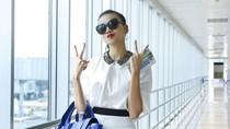 Thanh Hằng 'xì tin' trước giờ casting Next Top Model ở Hà Nội