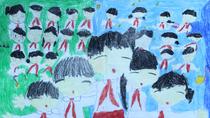 Tranh dự thi của Minh Châu, lớp 5I, Tiểu học Dịch Vọng A (MS: 117)