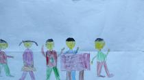 Tranh dự thi của Bảo Sơn, lớp 5I, Tiểu học Dịch Vọng A (MS: 121)