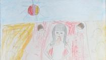 Tranh dự thi của Yến Chi, lớp 4B, Tiểu học Dịch Vọng A(MS: 142)